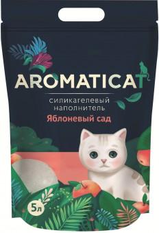 Aromaticat 5л Силикагелевый гигиенический наполнитель Яблоневый сад