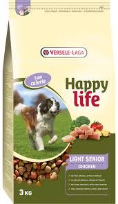 Happy Life (Versele-Laga) 3кг Для пожилых собак с курицей, контроль веса