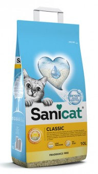 Sani Cat 7,5кг впитывающий наполнитель без аромата