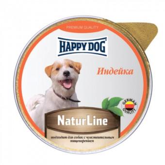 Happy Dog 125г паштет для собак Индейка