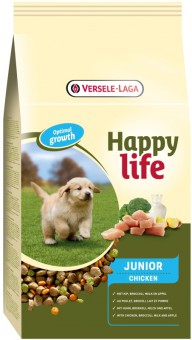 Happy Life (Versele-Laga) 3кг Для щенков с курицей (Happy life Junior Chicken)