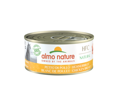Almo Nature 150г HFC Natural Консервы для кошек с куриной грудкой