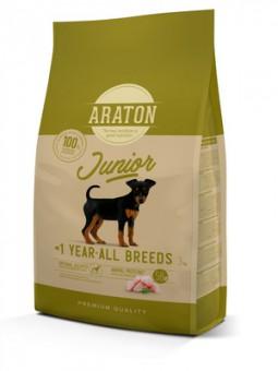 Araton 3кг сухой корм для щенков, с мясом птицы