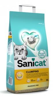 Sani Cat 13,98кг комкующийся наполнитель с активным кислородом без аромата