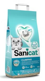 Sani Cat 8,4кг комкующийся антибактериальный наполнитель с активным кислородом и ароматом марсельского мыла
