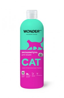 Wonder lab 480мл экошампунь для кошек
