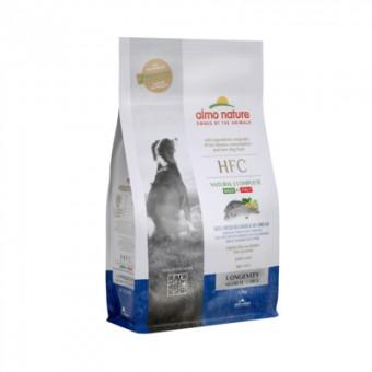 Almo Nature 1,2кг сухой корм для взрослых и пожилых собак средних и крупных пород, со свежей морской рыбой: окунь и лещ (43% рыбы)