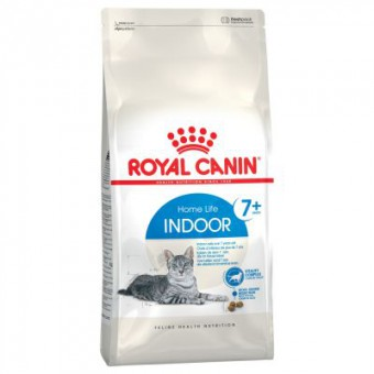 Royal canin 0,4кг Indoor +7 , корм для стареющих кошек (в возрасте от 7 до 12 лет), живущих в помещении