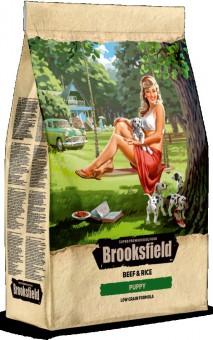BROOKSFIELD 0,8кг Low Grain Puppy Сухой корм для щенков Говядина/рис