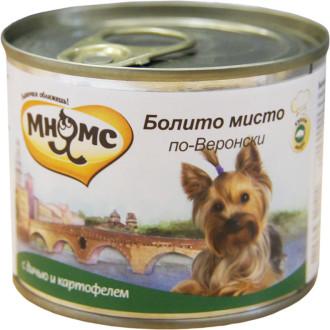 6шт. Мнямс 200г консервы для собак Болито мисто по-Веронски (дичь с картофелем)