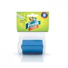 Mr.Fresh Пакеты для уборки фекалий сменный рулон 20 пакетов