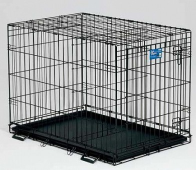 iCrate клетка 122х76х84 черная, вес 20,1 кг