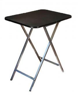 Стол 725*505*820мм  для груминга складной-раздвижной  покрытие резина вес 7,8 кг