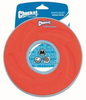 Chuckit Zipflight Medium Игрушка для собак - Диск для фрисби, мягкая, средняя