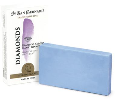Iv San Bernard Traditional Line Diamonds Шампунь-мыло отбеливание и восстановление яркости окраса 75 гр