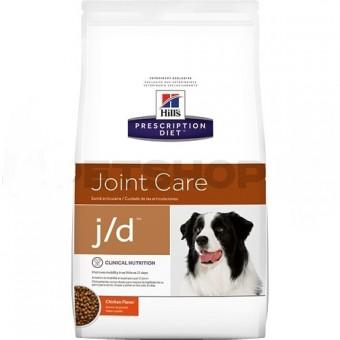 Hill's 2кг Prescription Diet j/D для собак лечение суставов, J/D Mobility Canin