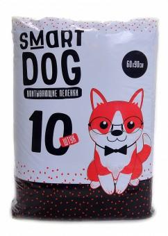 Smart Dog 60*90см 10шт Впитывающие пеленки для собак