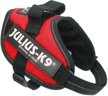 JULIUS-K9 шлейка для собак IDC®-Powerharness Mini-Mini (40-53см/ 4-7кг), красный