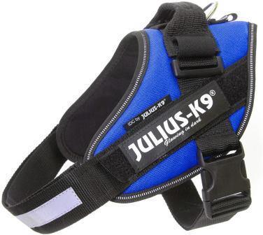 JULIUS-K9 шлейка для собак IDC®-Powerharness 1 (63-85см/ 23-30кг), синий