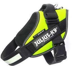 JULIUS-K9 шлейка для собак IDC®-Powerharness 1 (63-85см/ 23-30кг), зеленый неон