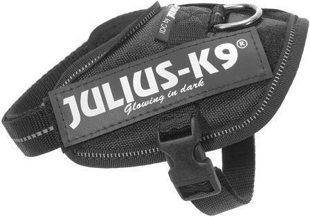JULIUS-K9 шлейка для собак IDC®-Powerharness 4 (96-138см/ 70-90кг), черный