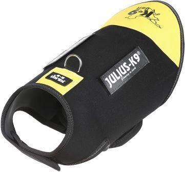 JULIUS-K9 жилет для собак Neoprene IDC® XS (43-53см / длина 33см), черно-желтый