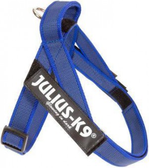 JULIUS-K9 шлейка для собак Ремни Color & Gray IDC® Mini (49-65см / 7-15кг), синий