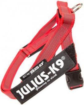 JULIUS-K9 шлейка для собак Ремни Color & Gray IDC® 3 (84-113см / 40-70кг), красный