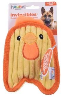 ОН игрушка для собак Invinc Mini Цыпленок 17 см без наполнителя