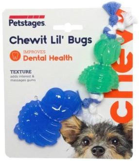 Petstages игрушка для собак Mini ОРКА жуки 15 см, пара