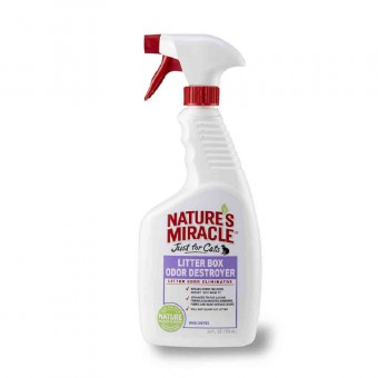 Nature's Miracle 709 мл Средство, уничтожающее запахи в кошачьих туалетах
