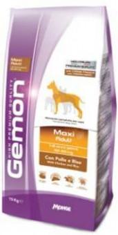 Gemon Dog Medium 15 кг корм для взрослых собак средних пород курица с рисом