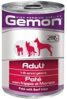 Gemon Dog 400 г консервы для собак облегченный паштет с тунцом