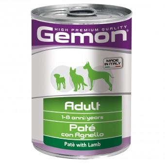 Gemon Dog 400 г консервы для собак паштет с ягненком