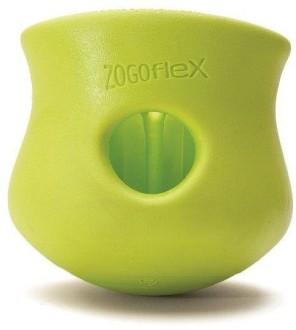 Zogoflex игрушка под лакомства для собак Toppl L 10 см зеленая
