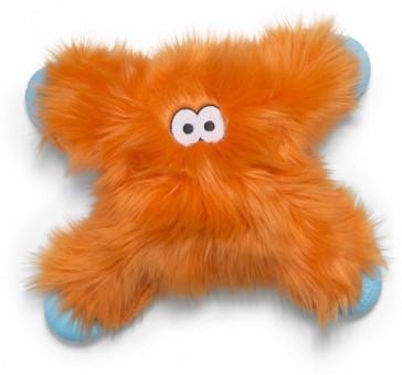 Zogoflex Rowdies игрушка плюшевая для собак Lincoln 28 см оранжевая