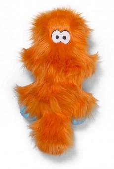 Zogoflex Rowdies игрушка плюшевая для собак Sanders 17 см оранжевая