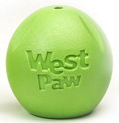 Zogoflex игрушка для собак мячик Rando 6 см салатовый