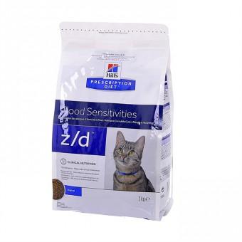 "Hill's 2кг Prescription Diet Z/D для кошек ""Лечение острых пищевых аллергий"", Feline"