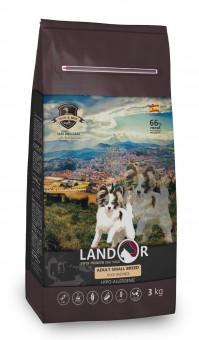 Landor 15 кг ADULT SMALL BREED DOG с мясом утки – сухой корм Ландор для взрослых собак маленьких пород