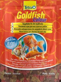TetraGoldfish Colour 12г.корм в хлопьях для улучшения окраса золотых рыб