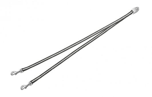 Flexi Vario Duo Belt - сворка для 2х собак для Flexi Vario (Антрацит)