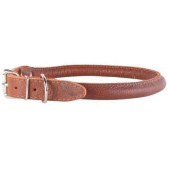 CoLLaR SOFT Ошейник для длинношерстных собак, ширина 1,4 см, длина 34-42 см, коричневый
