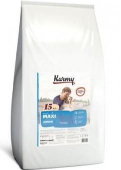 Karmy 12кг Karmy Maxi Junior сухой корм для щенков крупных пород с телятиной