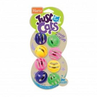 Hartz Игрушка для кошек - Hartz Cемь шариков с колокольчиком, пластик Midnight Crazies Cat Toy