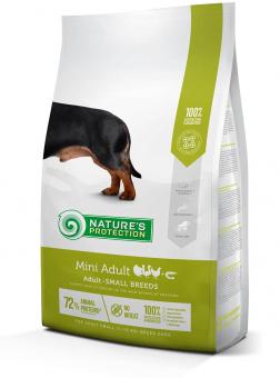 Nature's Protection 500г Mini Adult корм для собак мелких пород
