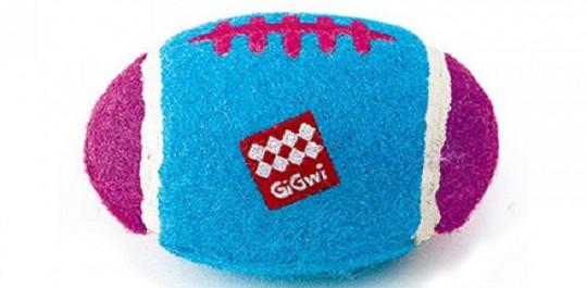 GiGwi 75007 Мяч с пищалкой. Средний.