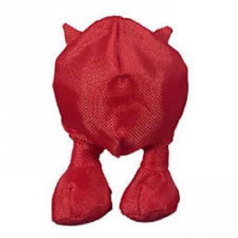 JW Canvas Cuz Мяч с ножками и рожками хрустящий, средний d=7см, h=10,5см Crackle & Crunch игрушка для собак