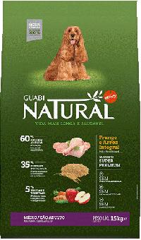 Guabi Natural 20 кг Adult medium сухой корм для взрослых собак средних пород