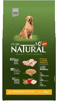 Guabi Natural 15 кг maxi сухой корм для взрослых собак крупных пород